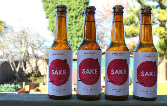 homebrewed sake:  tasting the sake