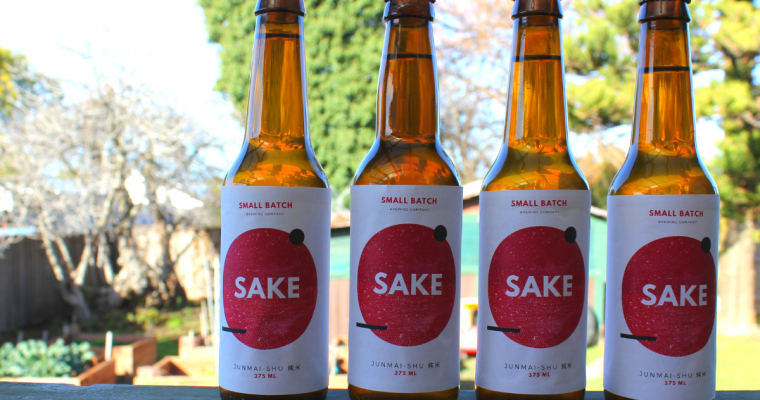 homebrewed sake:  tasting the sake