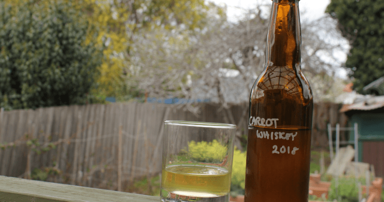 Tasting the Carrot Whiskey