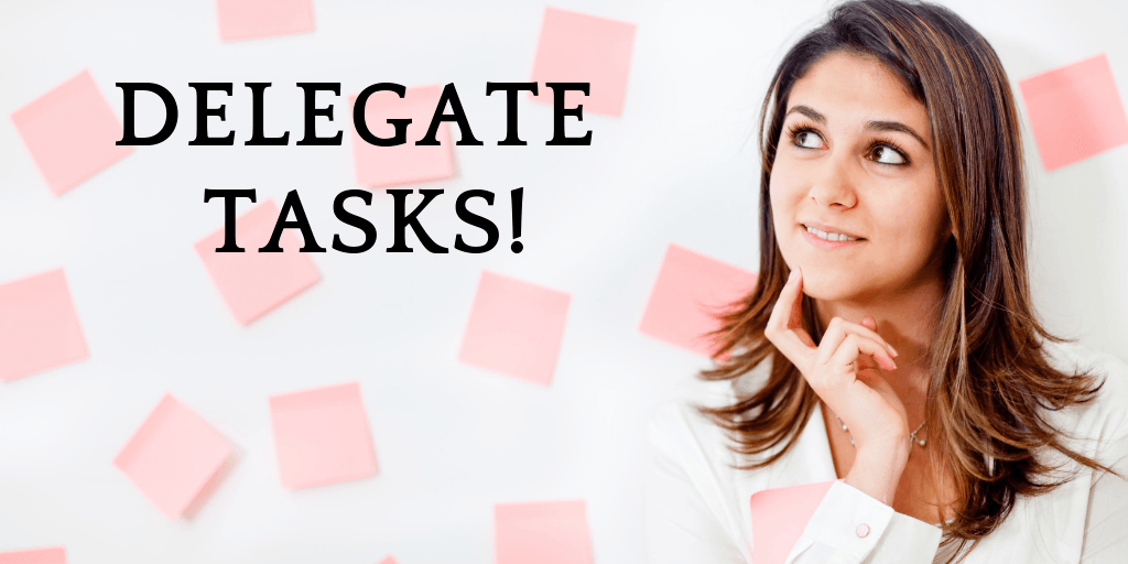 delegate to grow your small business