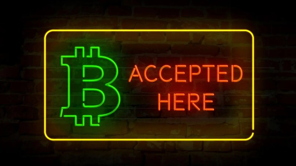 accept bitcoin for services