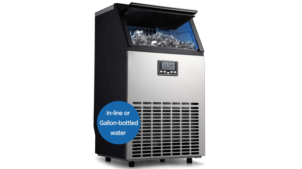 ADT Ice Machine Stainless Steel Under Counter Freestanding Commercial Ice Maker Machine