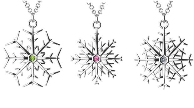 snowflake-necklaces