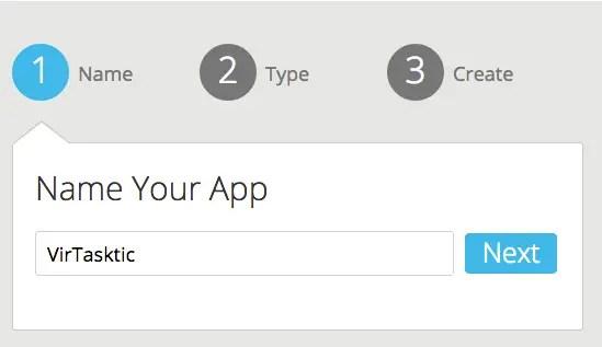 como app