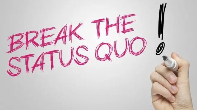 status quo in business