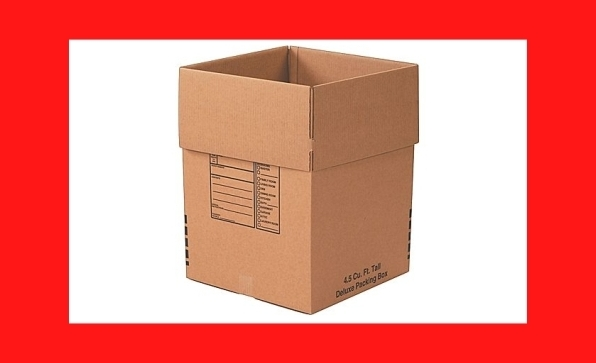 use good boxes when you move a business