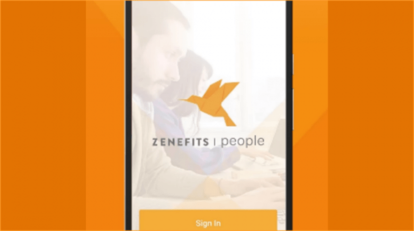Zenefits for Mobile HRMS App