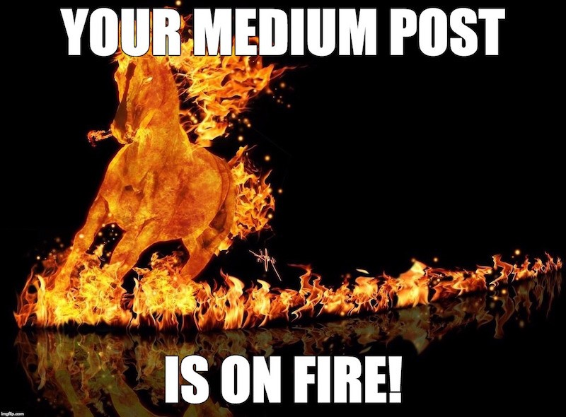 Medium Publishing Tips - Include a Powerful Image