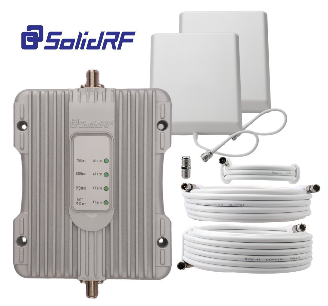 Best Cell Phone Signal Boosters for Business Users - SolidRF BuildingForce 4G-M