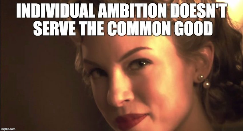 PPC Marketing - Individual Ambition Doesn't Serve The Common Good