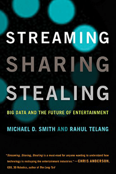 The book Streaming Sharing Stealing: Big Data and the Future of Entertainment explores the impact and power of Big Data on the creative industry.