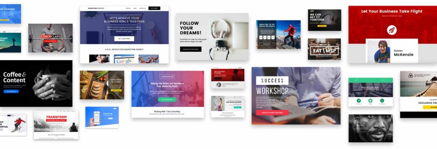 15 Killer Landing Page Builders - Leadpages