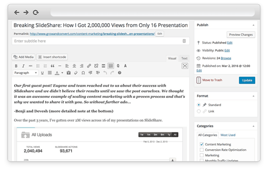 Using Wordable to Convert Google Docs to WordPress - Step 3