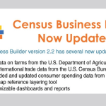 U.S. Census Bureau Updates its Business Builder Tool, Here's What's Inside