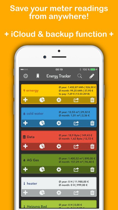 20 Mobile Apps to Help You Reduce Energy Costs - Energy Tracker