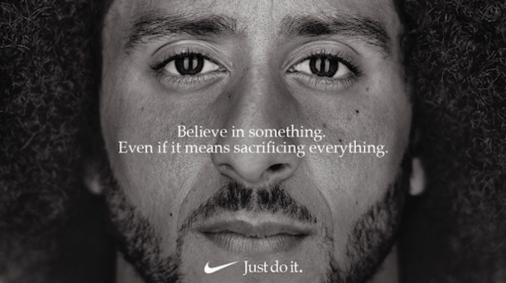 Nike ad - cause marketing examples