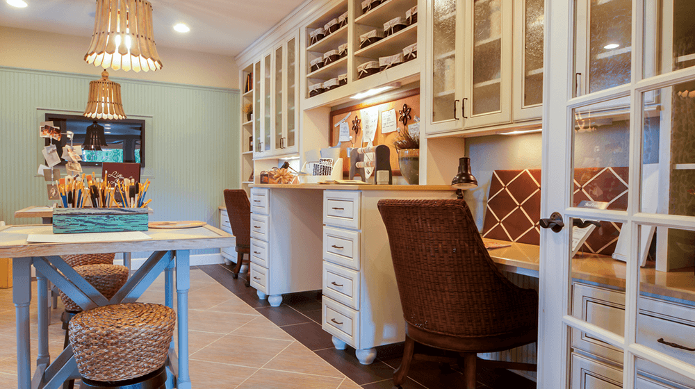 50 Craft Room Ideas For Your Handmade Business Small Business Trends