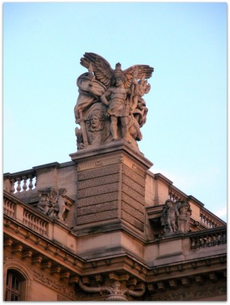 Details on the roof