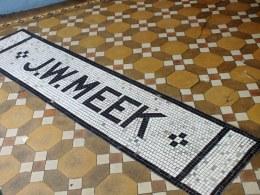Mosaic flooring