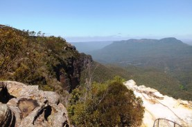 View towards Echo Point