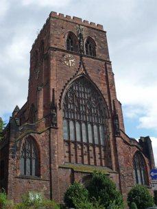 The Abbey's West window