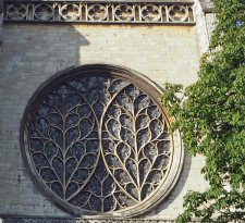 The Bishop's Eye - rose window