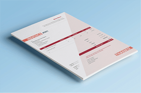 3 Free Invoice Templates for Small Business Owners Download the    Cobardia  firebrick     template here