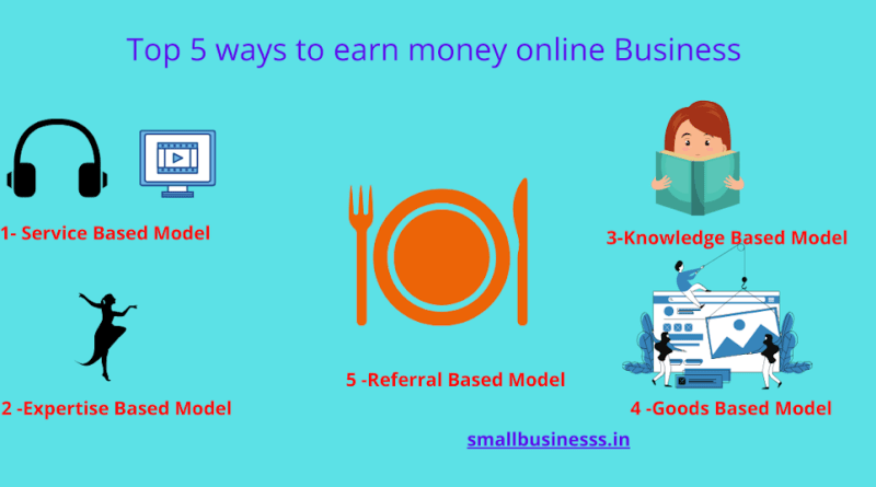 top 5 ways to earn money online in hindi 2020