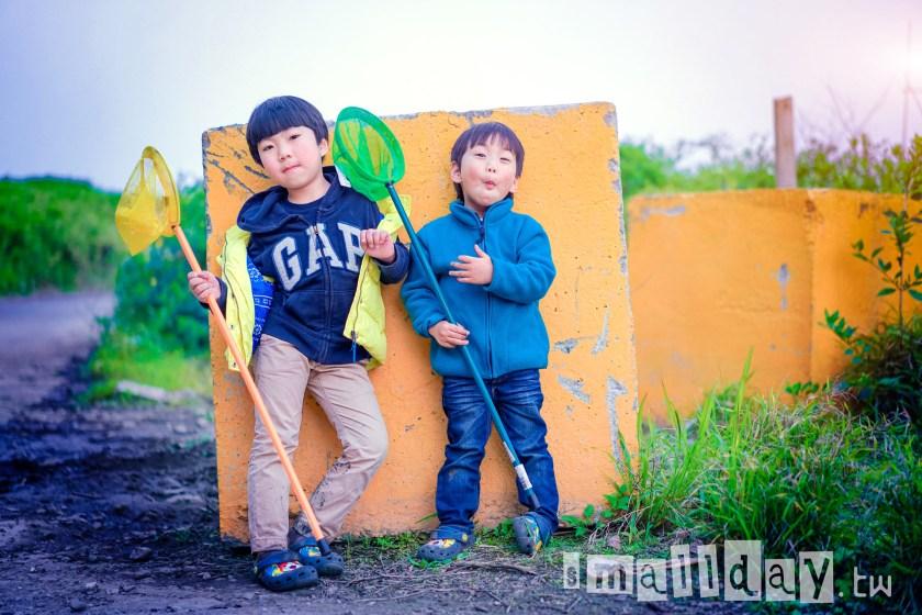 台北桃園新竹兒童寫真 小日子寫真館 觀音海邊 (1)