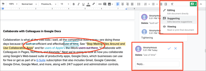 Collaborate with Colleagues in Google Docs | Barkings! from Small