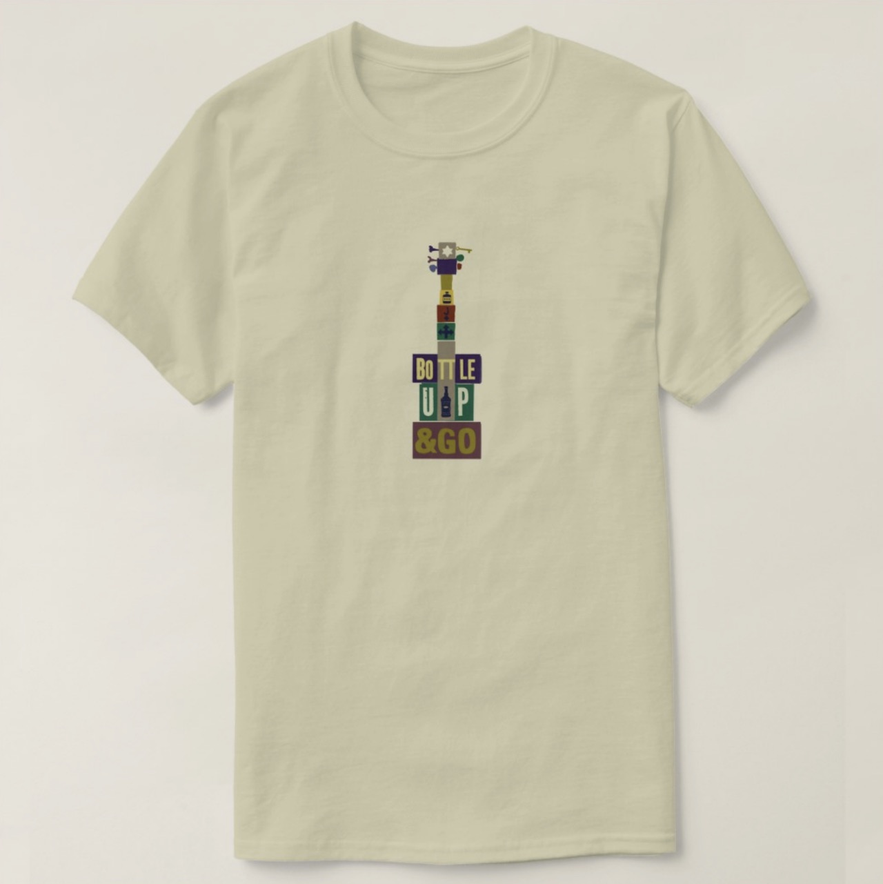 bottle up and go print on demand t shirt