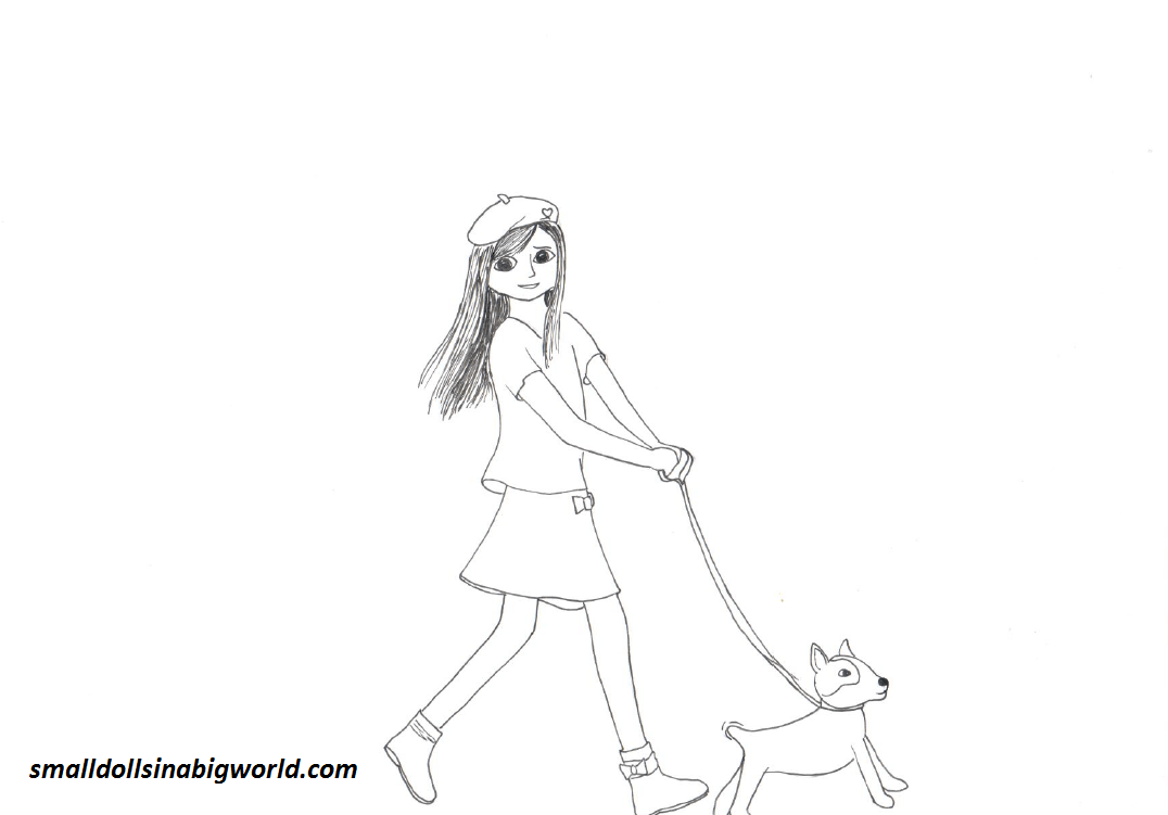 Sneak Peek New Coloring Pages Small Dolls in a Big World