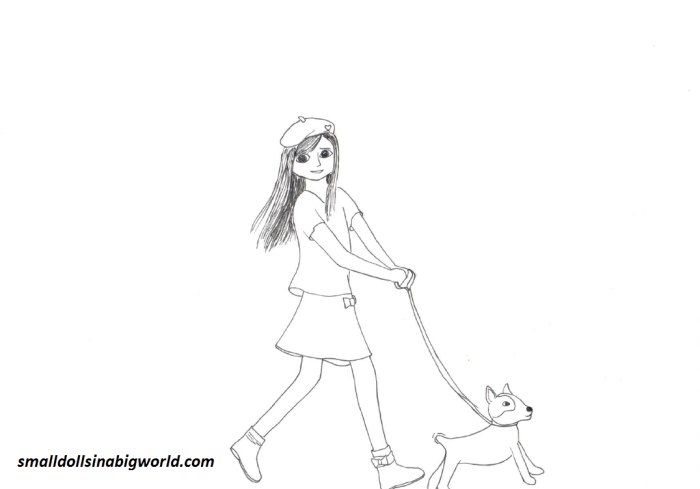 American Girl Grace coloring pages