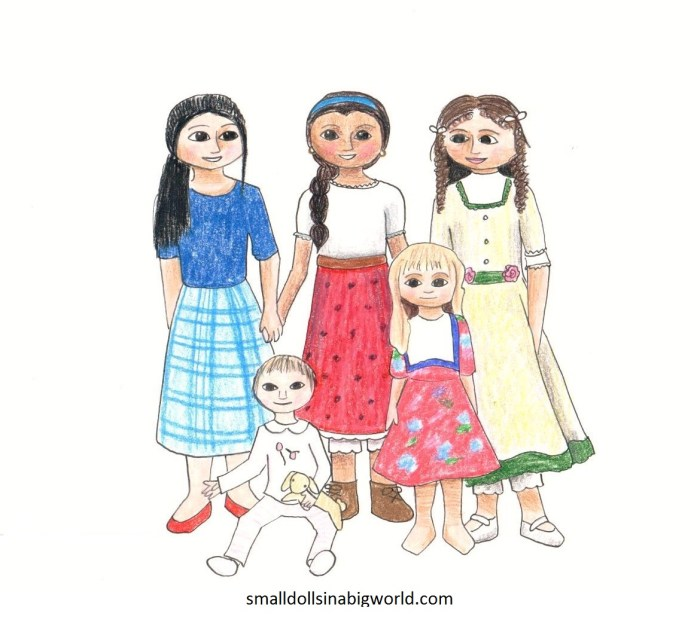Christian Homeschooler's Doll Drawing