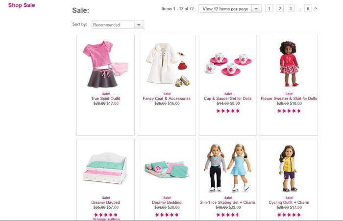 New AG Sale Items