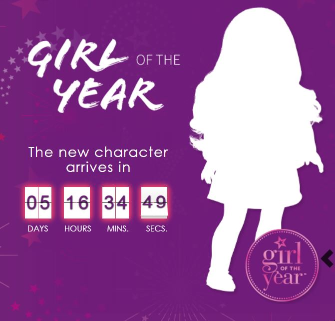 American Girl's Countdown to Lea