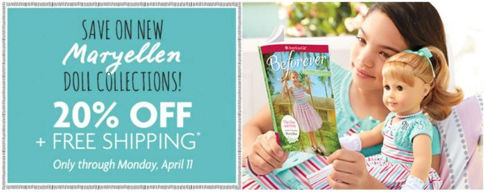 20% off New Maryellen Doll Collections