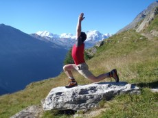 Even yoga can be extreme in the Alps