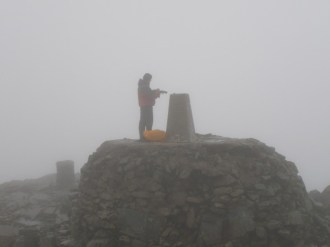 According to my map, this is the highest point of the British Isles...