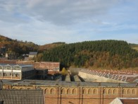Train vistas in October