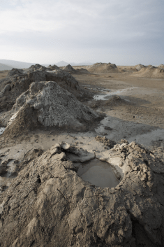 Mud Volcanoes at Gobustan State Reserve (image by Nick Taylor)