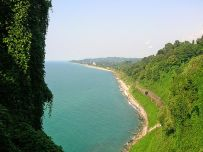 Batumi coast in Georgia (Wikipedia)