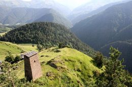 View from Keselo fort, Georgia (image by Alex Maisuradze)