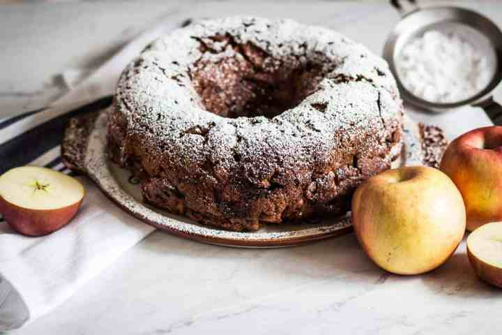 Gluten-free Apple Bundt Cake
