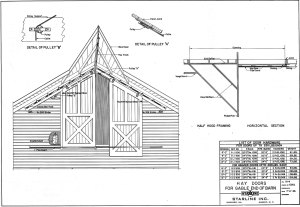 Barn Door Plans – Small Farmer's Journal