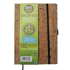 Onyx and Green stone paper notepad