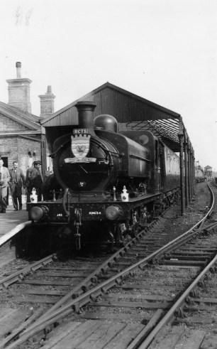 1st Herts Railtour 26 Abbey Stn b ©