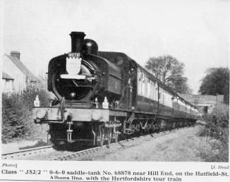 1st Herts Railtour 30