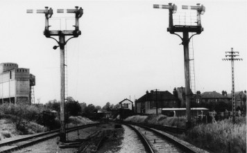 Abbey Stn 1 Approach circa 1955