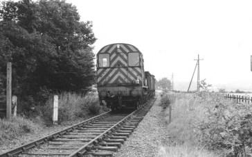 Between Nast Hyde & Smlfrd 1965 for Smallford scrap traffic - 3
